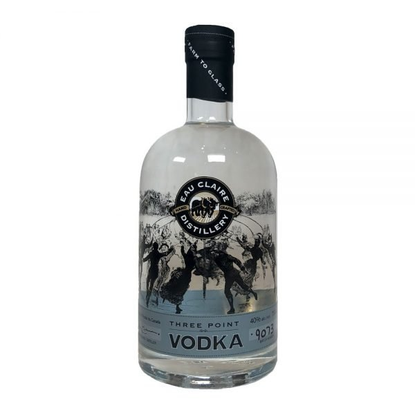 Eau Claire Distillery Three Point Vodka