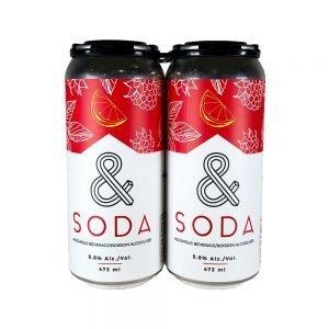 & Soda Raspberry Lemon