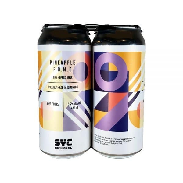 SYC Pineapple FOMO Dry Hopped Sour