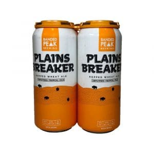 Banded Peak Plainsbreaker Hopped Wheat Ale