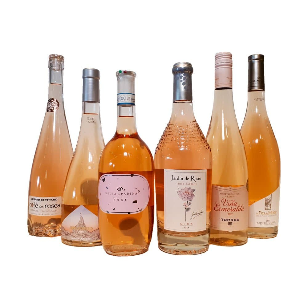 Highly Rated Rosé Mix Six Pack