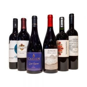 90 Point New World Reds Mix Six Pack
