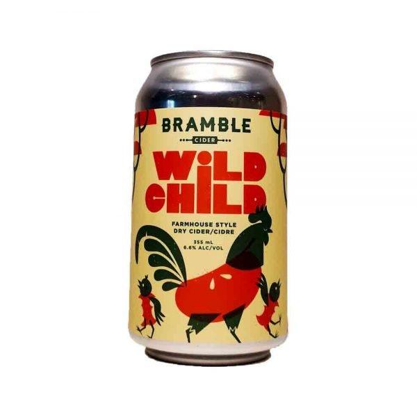 Bramble Wild Child Farmhouse Dry Cider