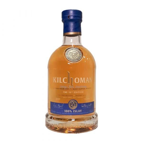 Kilchoman 100% Islay Single Malt Scotch Whiskey