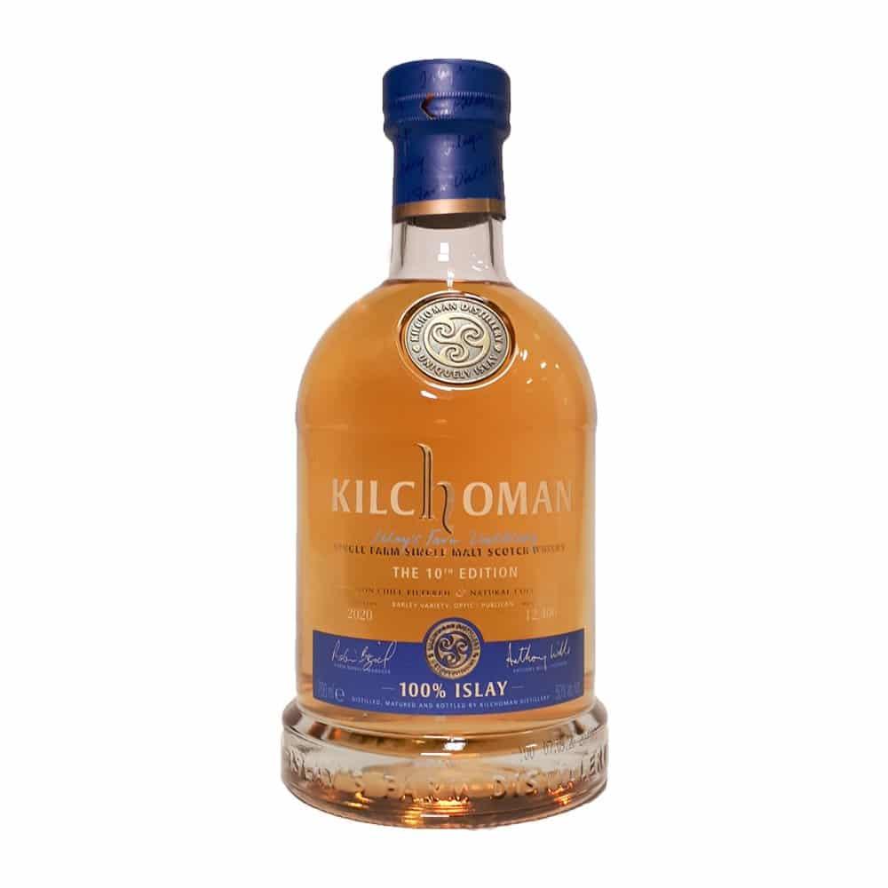 Kilchoman 100% Islay Single Malt Scotch Whiskey