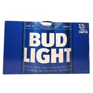 Budweiser Light 15can