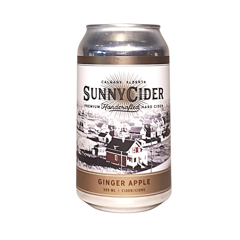 Sunny Cider Ginger Apple Can