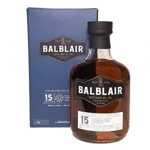 Balblair 15 Year Highland Single Malt Scotch Whisky