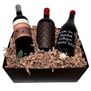 Spanish Red Wine Lovers Gift Basket